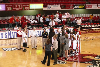 Yes, folks, 80-55 - it was an awesome game for Wolfpack fans!