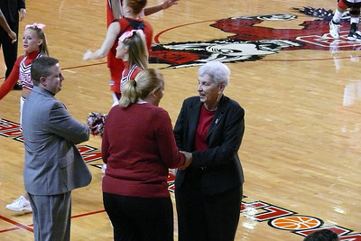 Maryland's Head Coach Brenda Frese had given birth to twins a few weeks before this game.  Congrats to Coach Frese!