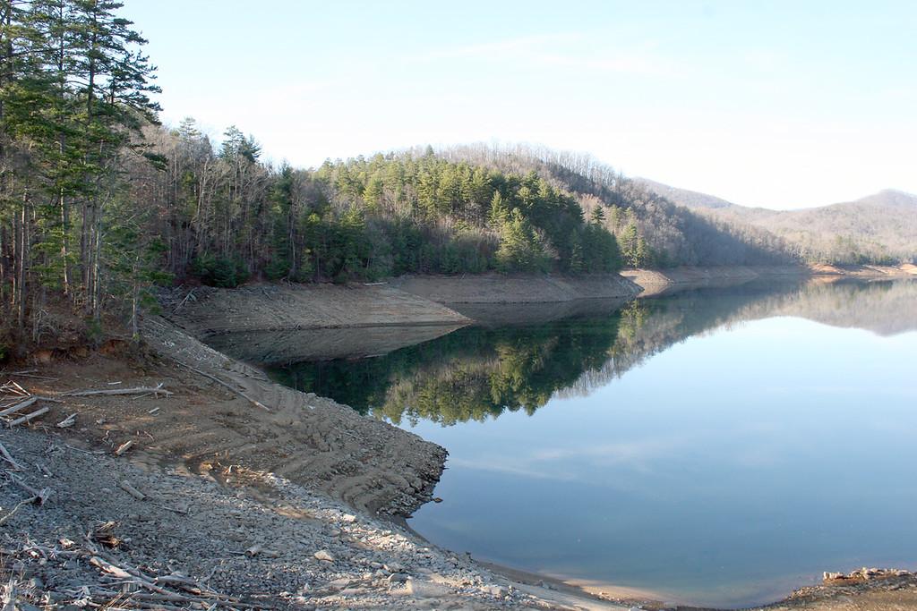Hiawassee Dam outside of Murphy, NC