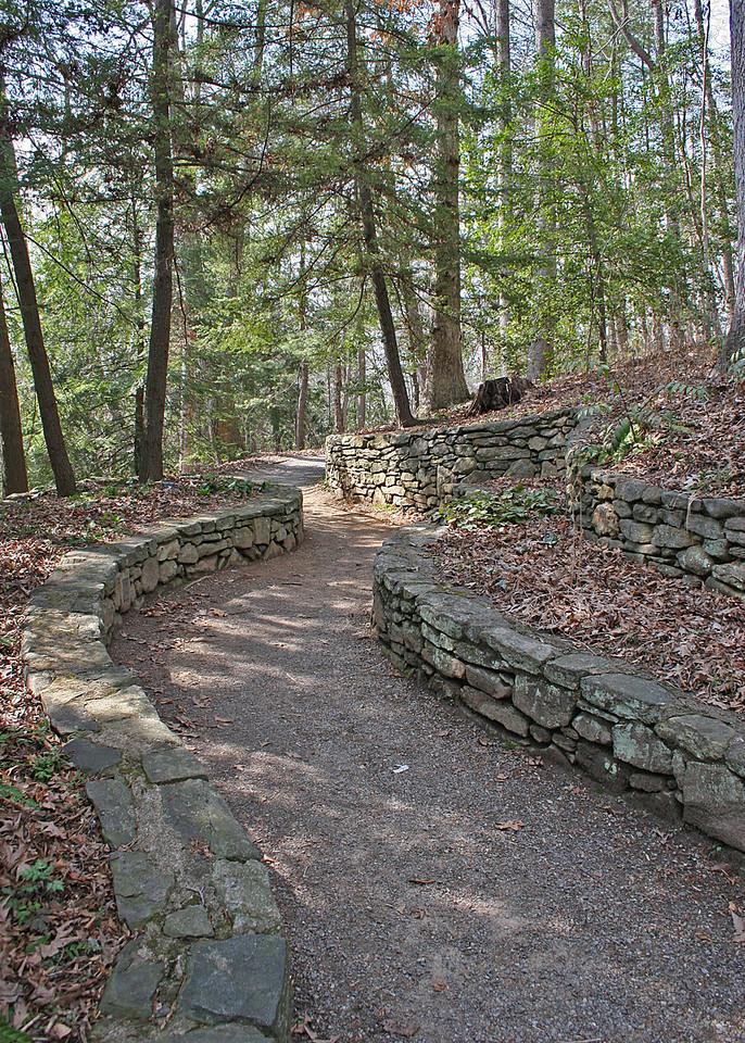 Walkway in gardens