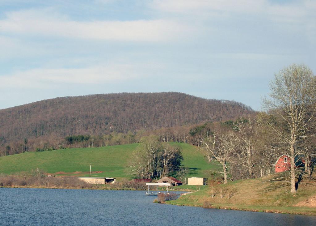 Suches Lake, Suches, GA.