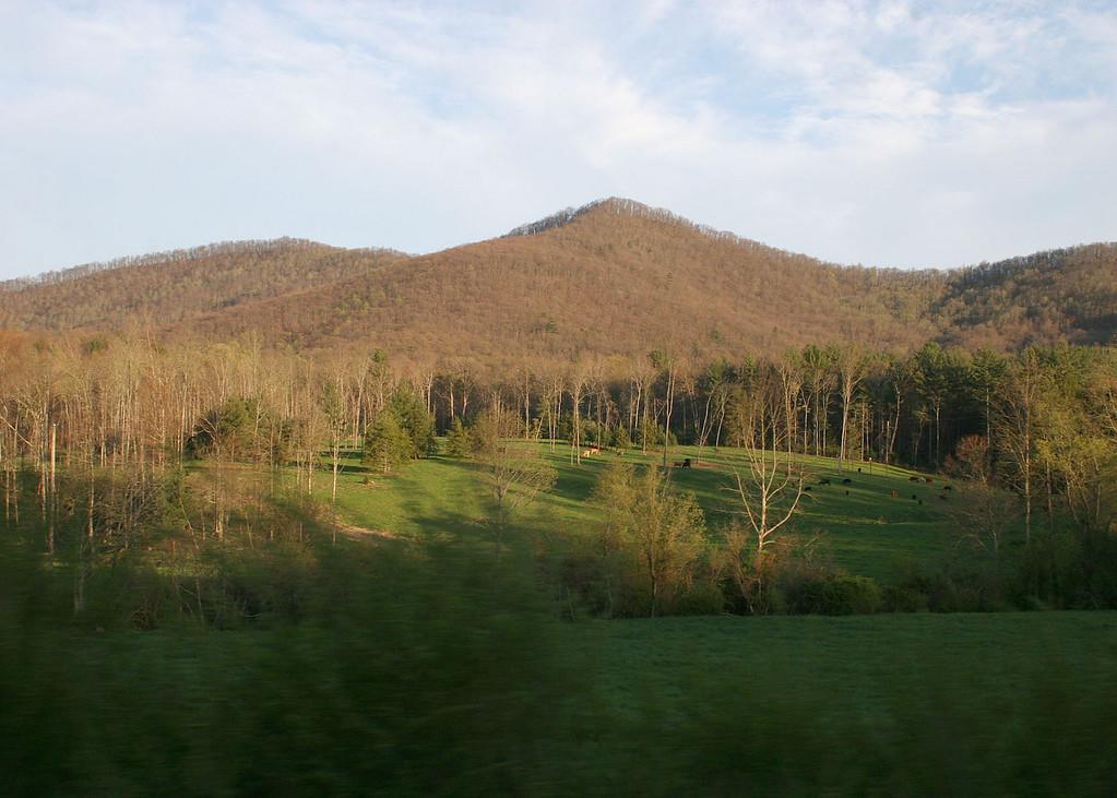 Skeenah Gap Road; almost home!