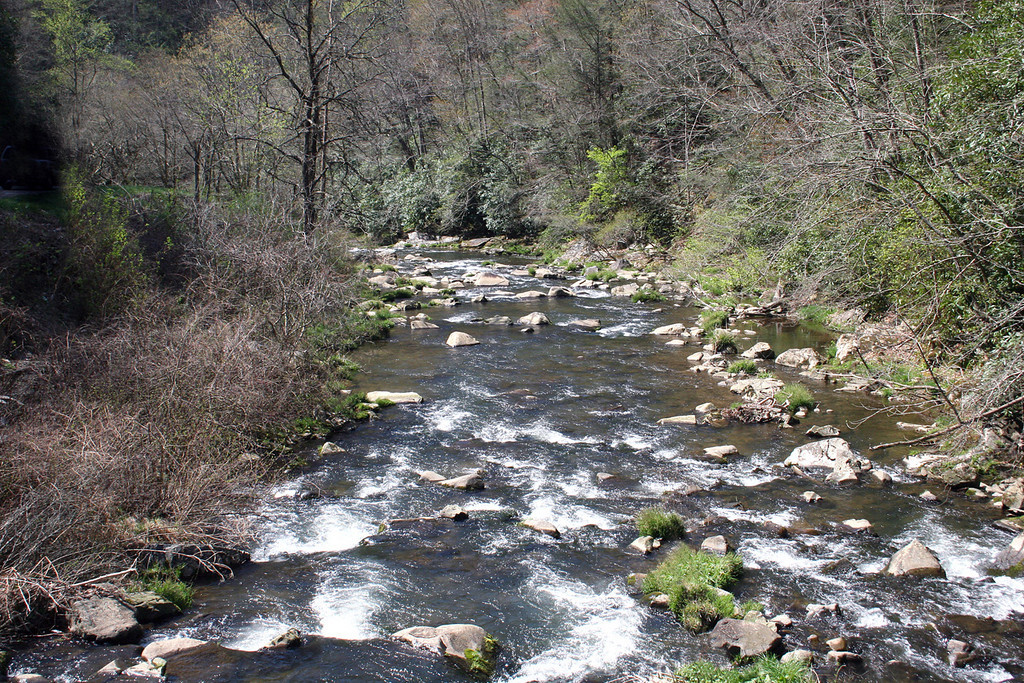 Stream along the way from Benton, TN to Murphy, NC - 4/5/07