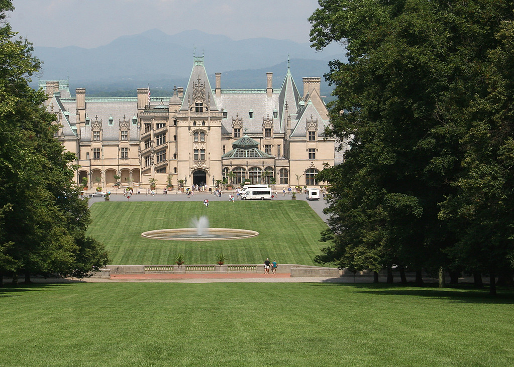 Biltmore as viewed from the upper lawn