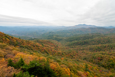 The Blowing Rock in Blowing Rock, North Carolina