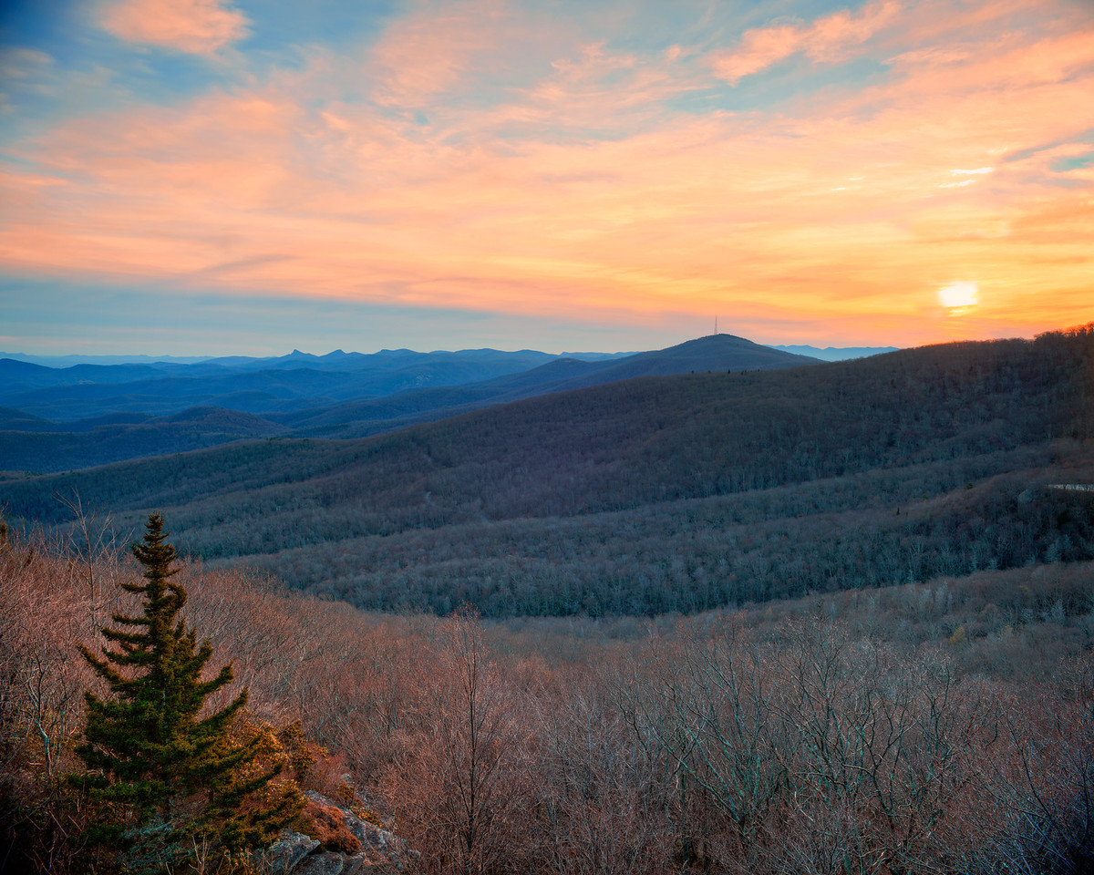 Grandmother Mountain Sunset
