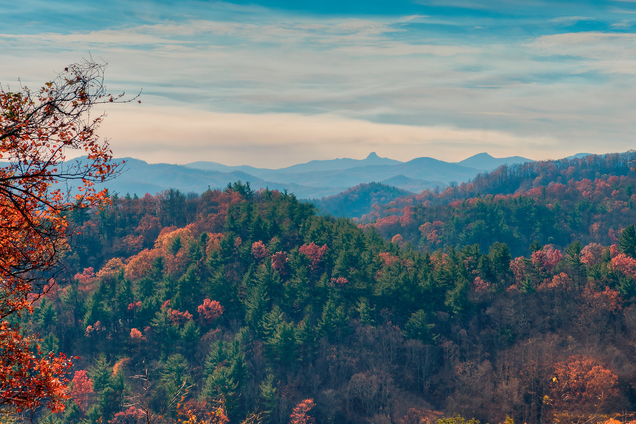 Fall Color on the Horizon