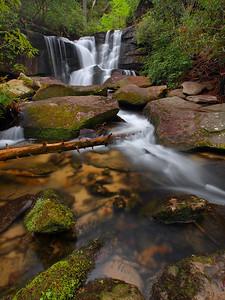 Cedar Rock Creek Falls - 2