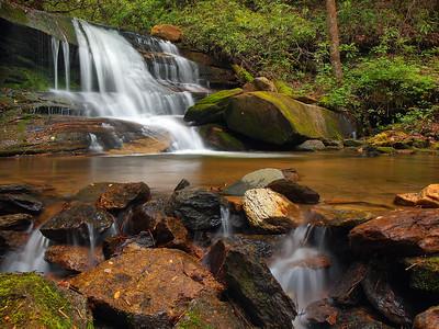 Waterfall On Rockhouse Creek