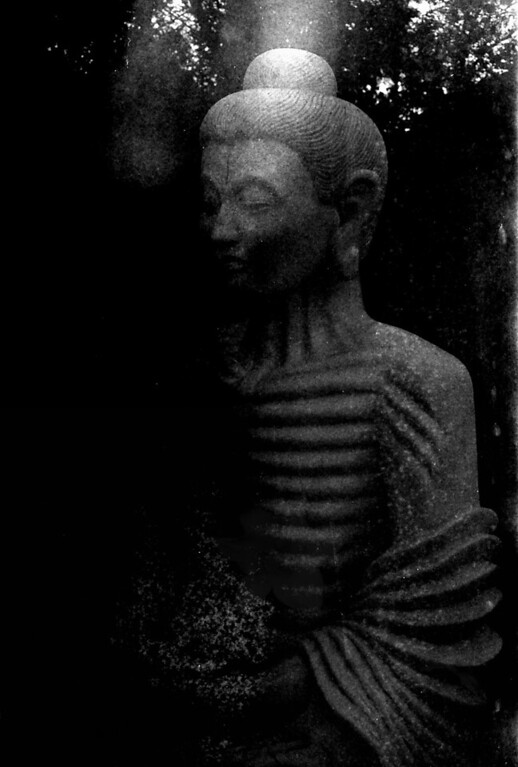 1 Charlotte Buddha in Black and White