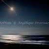 Full Moon Rising Over Emerald Isle