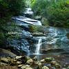 Setrock Creek Falls, near Black Mountain Camp