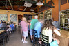 People enjoy the craft brewed beer from NoDa Brewing Company in Charlotte, NC on Sunday, June 15, 2014. Copyright 2014 Jason Barnette
