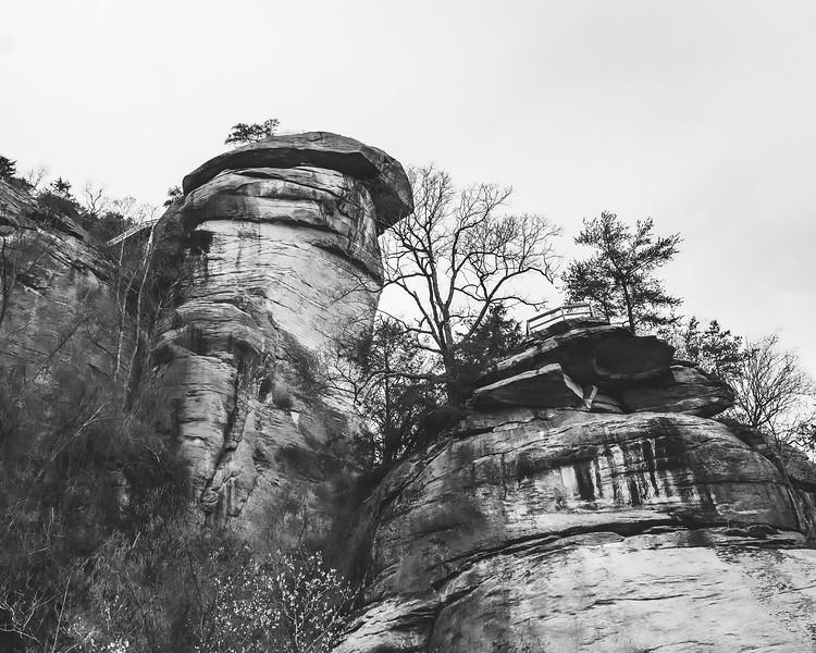 Chimney Rock State Park in Chimney Rock North Carolina
