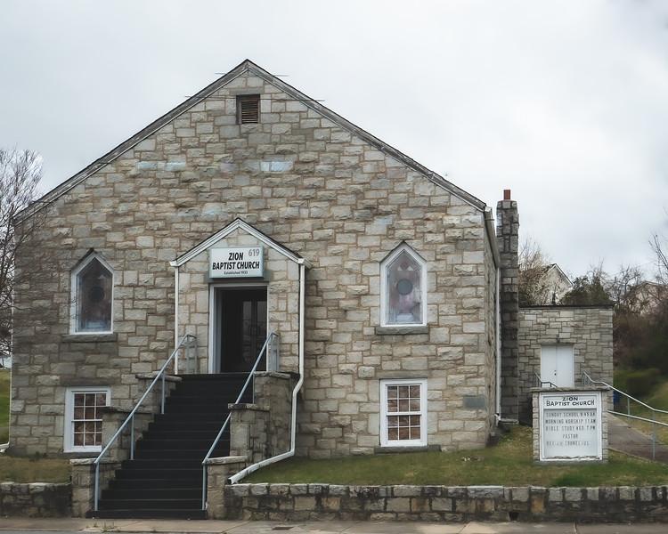 Zion Baptist Church in Mount Airy North Carolina