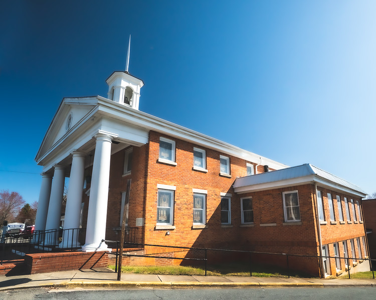 Haywood Memorial Baptist Church in Mount Airy North Carolina