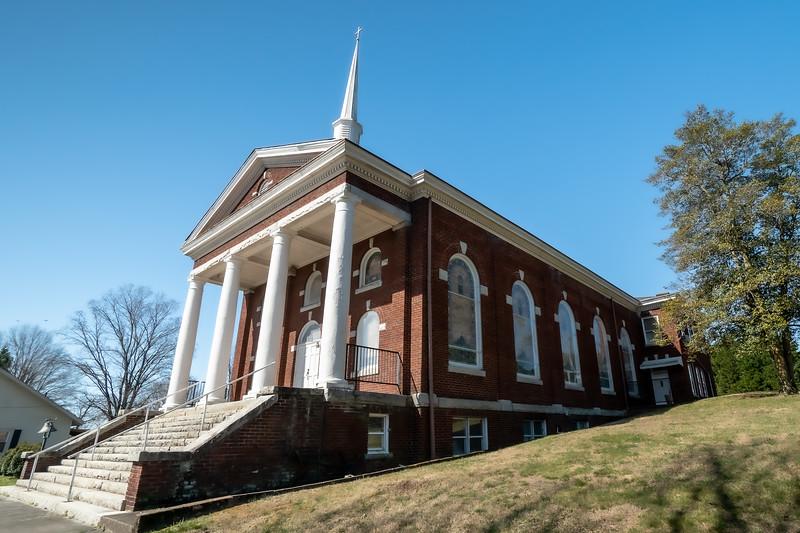 Rockford Street Methodist Church in Mount Airy North Carolina