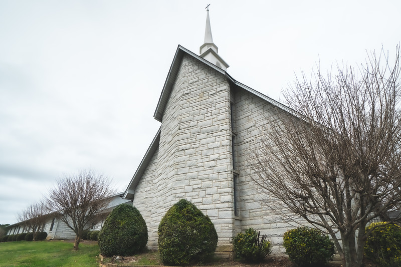 Flat Rock Baptist Church in Hamptonville North Carolina