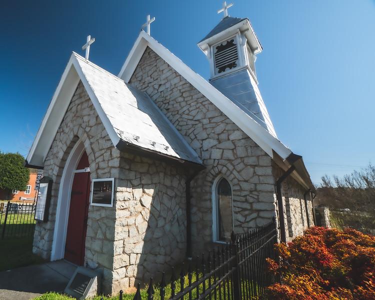 Trinity Episcopal Church in Mount Airy North Carolina