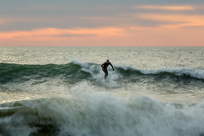Sunrise Surfer, Nags Head