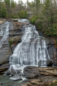 High Falls in Dupont State Forest, NC