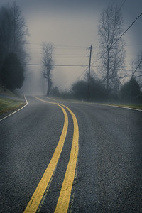 Highway 268 Fog