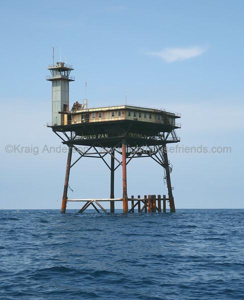 Frying Pan Shoals Lighthouse