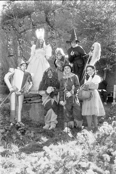 33 Tin Man Cowardly Lion Glinda the Good Witch Wicked Witch of the West Scarecrow Flying Monkey Dorothy Gale