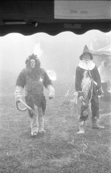 12 Scarecrow and Cowardly Lion in the Fog