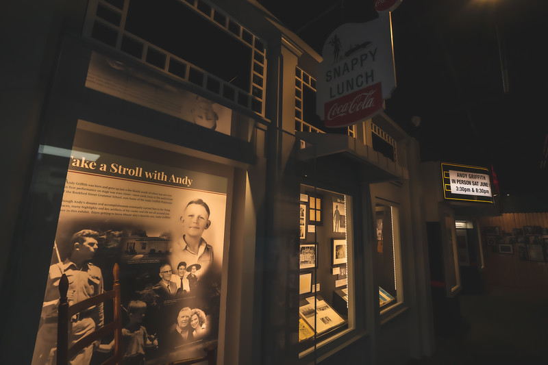 Andy Griffith Museum in Mount Airy North Carolina