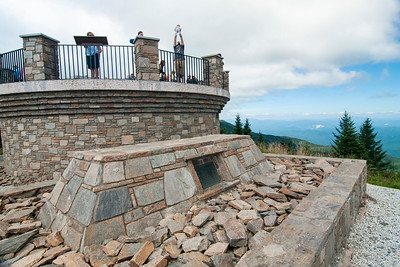 at Mt. Mitchell State Park
