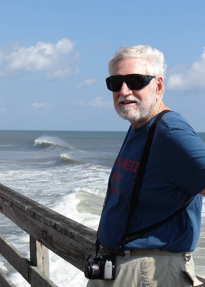 Mike at end of Nags Head Pier