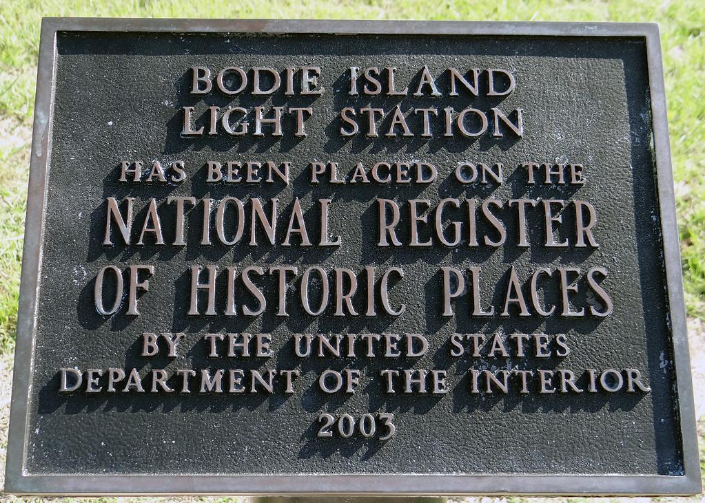 Bodie Island Light Station sign