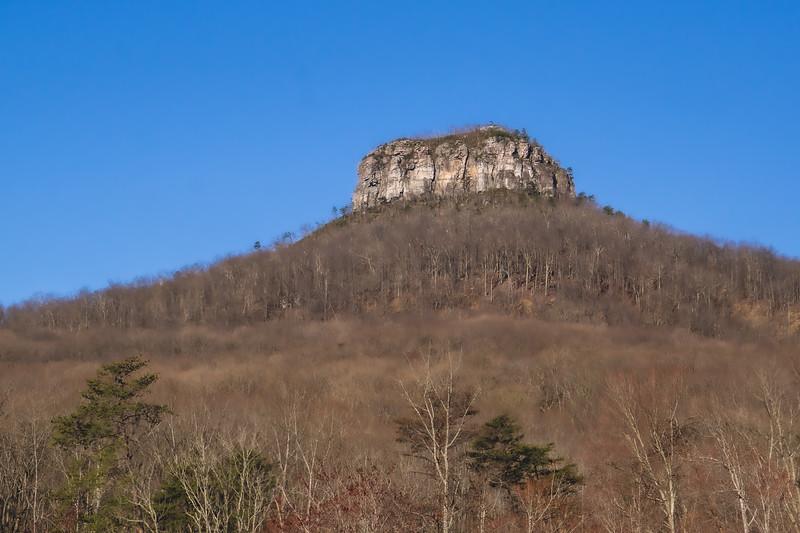 Pilot Mountain State Park in Pinnacle North Carolina