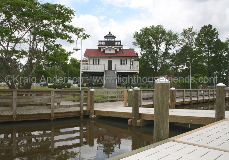 Roanoke River Replica Lighthouse