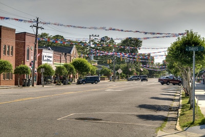 A quiet Sunday afternoon during the North Carolina 4th of July Festival in Southport, NC on Saturday, July 4, 2015. Copyright 2015 Jason Barnette