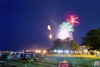 Thousands of people fill the streets and parks for the fireworks display during the North Carolina 4th of July Festival in Southport, NC on Saturday, July 4, 2015. Copyright 2015 Jason Barnette