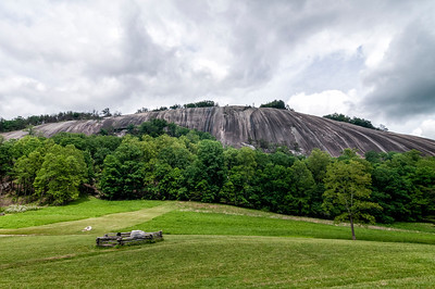 Stone Mountain State Park in Roaring Gap, North Carolina