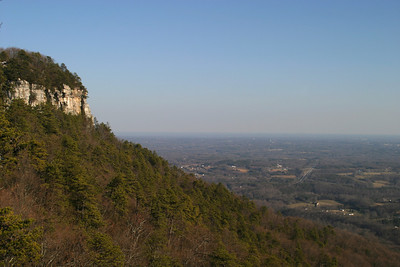 Visit to Pilot Mountain, Feb 2007