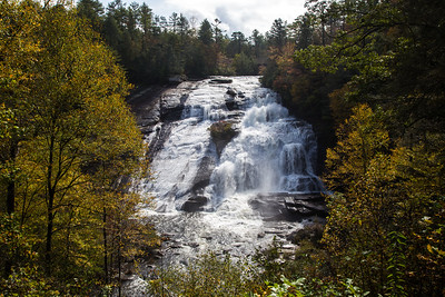 Waterfalls in DuPont State Forest, October 2017