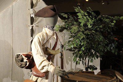 A dressed mannequin on display at the Museum of the Waxhaws in Waxhaw, NC on Saturday, June 14, 2014. Copyright 2014 Jason Barnette