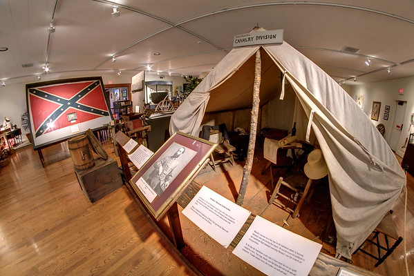 Historical artifacts on display inside the Museum of the Waxhaws in Waxhaw, NC on Saturday, June 14, 2014. Copyright 2014 Jason Barnette