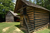 Outdoor structures at the Museum of the Waxhaws in Waxhaw, NC on Saturday, June 14, 2014. Copyright 2014 Jason Barnette