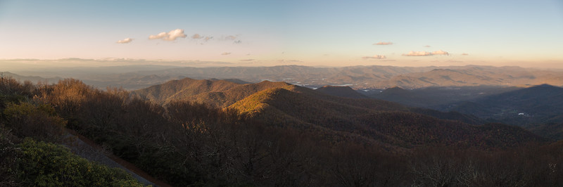 Wayah Bald and Brasstown Bald, October 2017