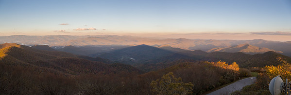View east from the summit of Brasstown Bald