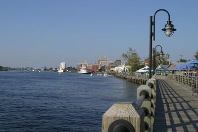 The Boardwalk and Cape Fear River, Wilmington