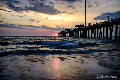 Sunrise at Jennette's Fishing Pier