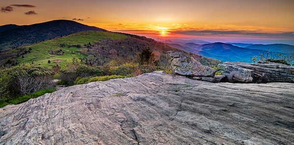 Sunset at Roan Mountain