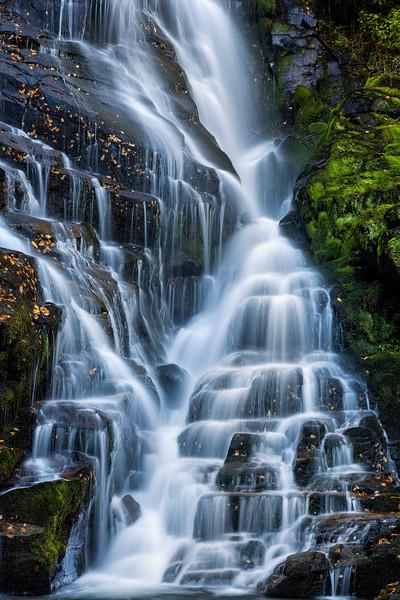 Eastatoe Falls and Stair Steps Vertical