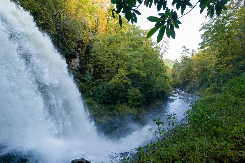 Dry Falls - Nantahala National Forest